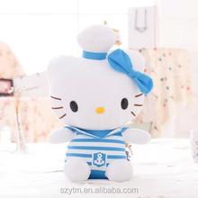 japan hello kitty plush cat toy