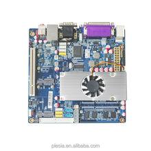 pin processor motherboard FSB intel atom processor 800MH PCI-X Motherboard