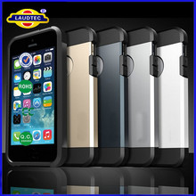 Tough Armor Ultra Thin Slim Shock Proof TPU metal Case for iPhone 6 2 in 1 case--Laudtec
