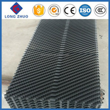 Black Slope Wave PVC Fill for cooling tower, PVC Cooling Tower Fill Types