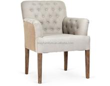 Francês estofados de jantar em madeira maciça chairchair almofadas / antigo cadeira de jantar / cadeira da sala de jantar