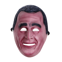 KIDS MR BEAN MASK FUNNY ADULT LATEX FACE MASKS TV SHOW HALLOWEEN FANCY PARTY