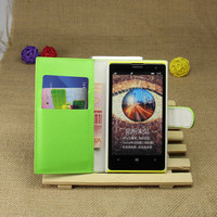 PU Leather flip wallet case cover for Nokia Lumia 1020
