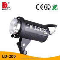 hot sale mini background photo outdoor studio camera flash light LD-200