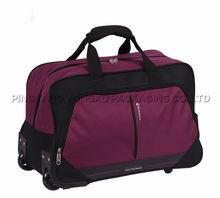 men women polyester duffle trolley bags hot sale trolley luggage bags vintage trolley bags