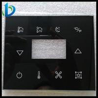 High grade 0.5 - 6mm silk screen printng touch control panel glass