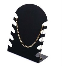 2012 hot new acrylic long necklace stand