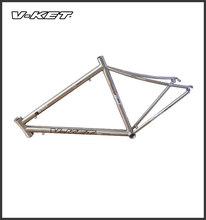 700C Titanium super light road bike frame from China manufacture