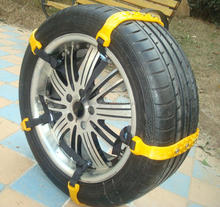 new design Plastic tyre chain anti skid chain for car protection