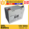 good quality solar gel battery 12v 30ah