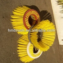 Disc PP Gutter Brush for road sweeper