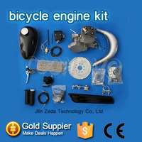 air cooled 2 stroke kick start bicycle gas engine kit /Motorized petrol bike