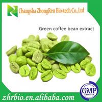 Slimming Care Medicine Green Coffee Bean Extract Powder 50% Chlorogenic Acids
