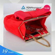 On Promotion Fashion Customize Women Red Shoulder Bag