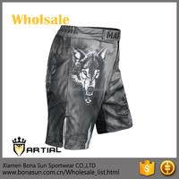 last design unisex microfiber fabric martial art mma shorts