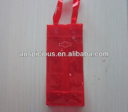 Wine tote bag stock pvc wine bag wine bottle cooler bag