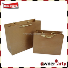 2015 Eco Friend New Design Kraft Paper Bags Wholesale