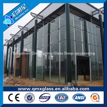 10mm tempered glass price/ toughened glass fence panels