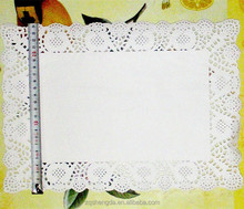 Hot sale rectangle paper dolies 26*37