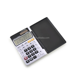 Hairong 2015 mini solar calculator promotional pocket calculator with cover