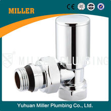 """dn15 angle type chromium plated classical good quality competitive price 1/2"""" Auto Temp. Control Valve Yuhuan Miller ML-6021"""