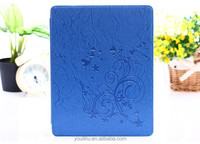 New top grade business portfolio tablet leather case for IPad Air