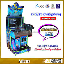 hot sale factory laser gun shooting games basketball shooting gun machine shooting basketball targets for kids