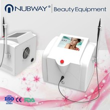 Portable laser pigmentation removal and spider vein removal machine