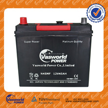 good price maintenannce used car and truck battery for sale NS60MF 12v 45AH