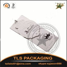 Garment Tags Product Type and paper or plastic Material swing hang tag