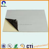 Single/double side PE film rigid PVC grey board