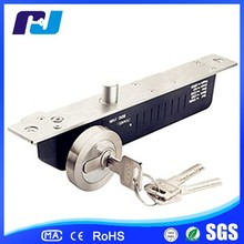 Sliding Fire Door Key Locks Electric Drop Bolt Lock With Cylinder And Key