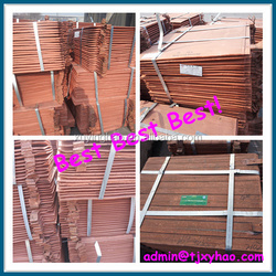 99.99% pure copper cathode High Quality copper/import and export copper company from china