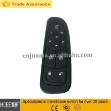 flat car lock silicone rubber keypad keyboard for car