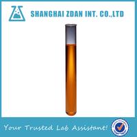 Laboratory glassware borosilicate heat resistant glass test tube, 10 ml test tube