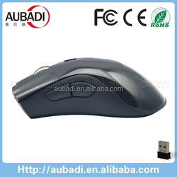 2015 best selling full size ergonomic 5D 2.4g wireless optical mouse with 1600DPI