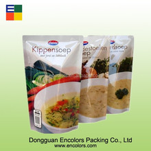 Top quality stand up plastic pouch bag/stand up pouch packaging/stand up retort pouch