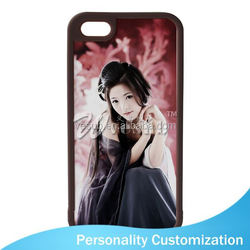 For Iphone 5 Sublimation Blank Phone Case 2D fashion mirror case with card holder for iphone 6