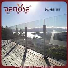 frameless glass cabinet display cover balcony glass curtain system