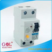 BV-D ZheJiang Wholesale Resin 2P residual current circuit breaker ELCB RCD