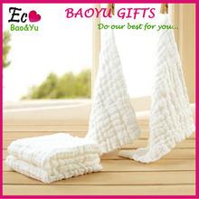 100% cotton baby handkerchief/ Gauze baby handkerchief wholesale