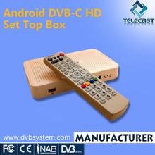 DVB-C Android TV Box