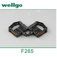 Wellgo F265 Bicycle Pedals Aluminum Bike Folded Pedal