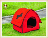 Flocking half cat Kennel Beds & Furniture New Arrival Striped Top House Dog Nest Cat Mats Available In Autumn And Winter pet bed