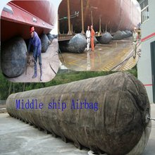 Marine Ship Airbag using ship launching and land repair ship tool
