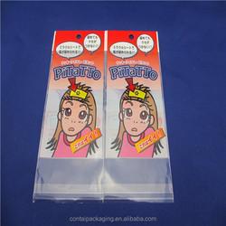 custom made opp plastic package bag