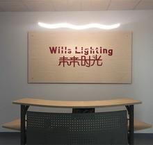Unique Design 1 Wave LED Arylic Decorated Pendant Lights