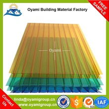 Factory direct sales lightweight 4mm greenhouse polycarbonate sheet