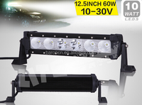 12.5 INCH 60W CREE1 LED LIGHT BAR COMBO BEAM LED DRIVING LIGHT FOR OFF ROAD 4x4 ATV UTV SAVED ON 120W/180W