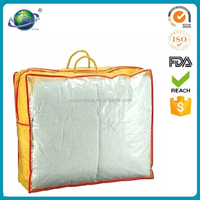 PVC Clear Plastic Bedding Bags quilt storage bag quilt bag